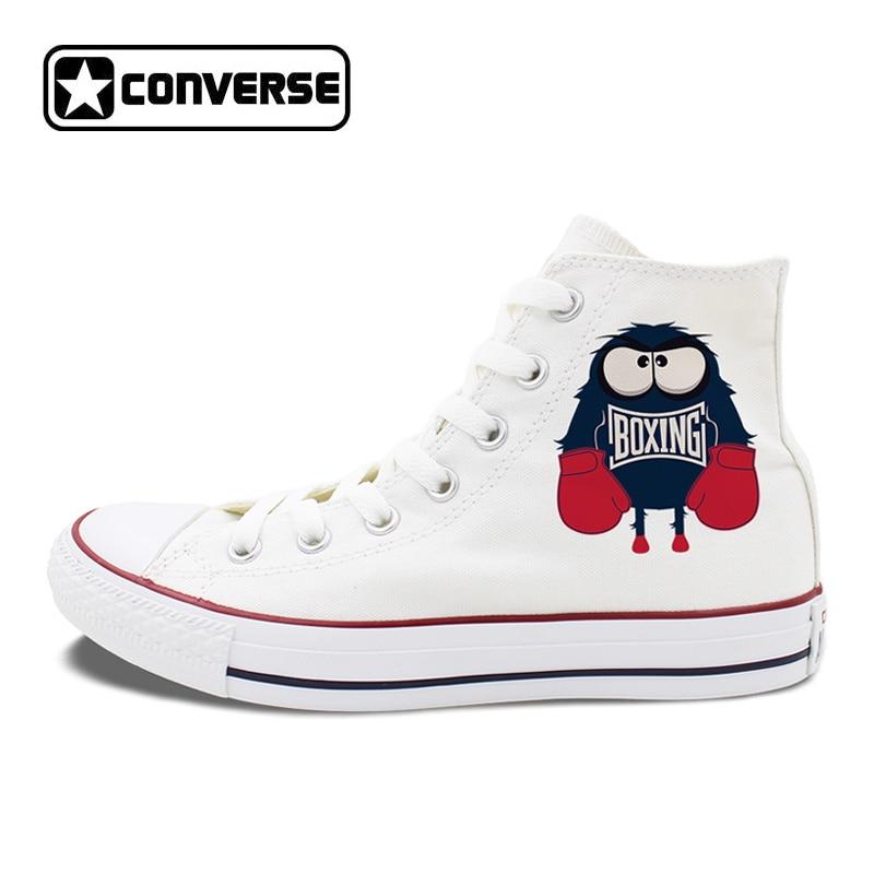 Men Women Chuck Sneakers Original Design Boxing Little Monster Canvas Shoes Converse Hi Top Skateboarding Shoes