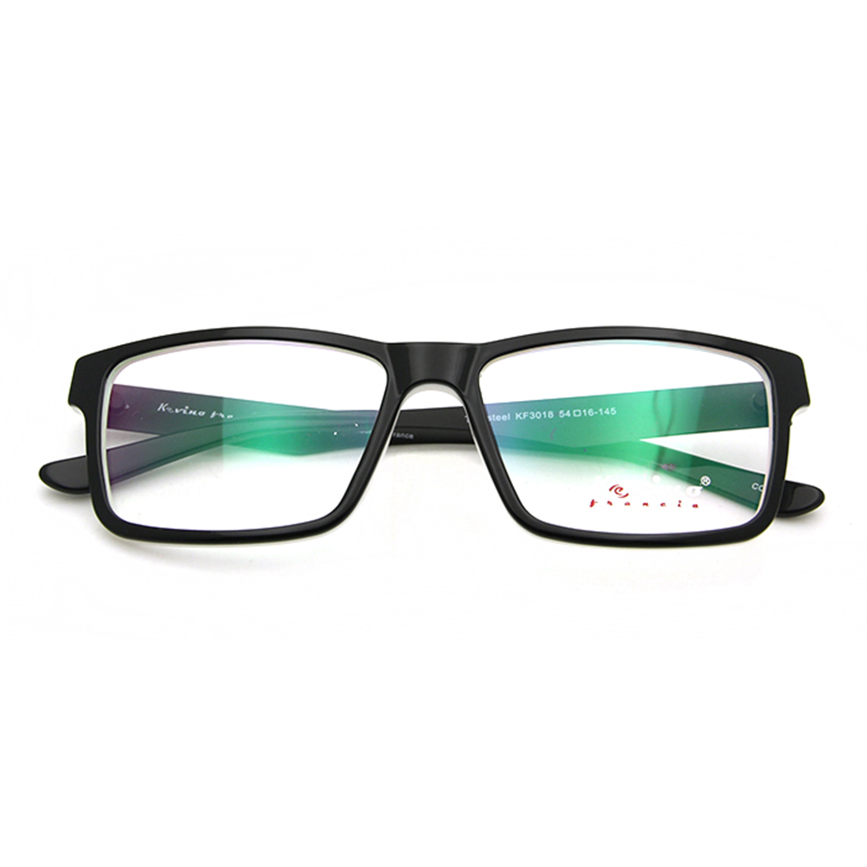 2019 Nieuwe TR90-brilmontuur Wit Zwart Dames Heren Vintage bril - Kledingaccessoires - Foto 4