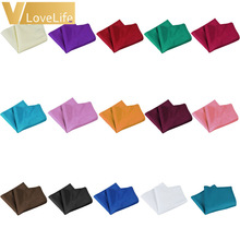 """100Pcs 30*30cm Napkin Polyester Table Cloths Many Colors 12""""x12"""" Doiner Wedding Party Home Table Decoration"""