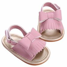 Pudcoco 0-18M First Walker Baby Shoes Toddler Infant Girls Boys Bowknot Baby Kid Sneaker Toddler Soft Bottom Prewalker Shoes