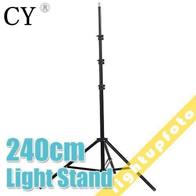 Lightupfoto Light Stands Studio Stand 7ft/240cm Photo Video for Photo Studio Accessory light support fotografia