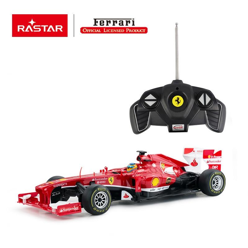 Rastar licensed rc car R/C 1:18 Ferrari F1 racing simulation electronic vehicle toy 53800