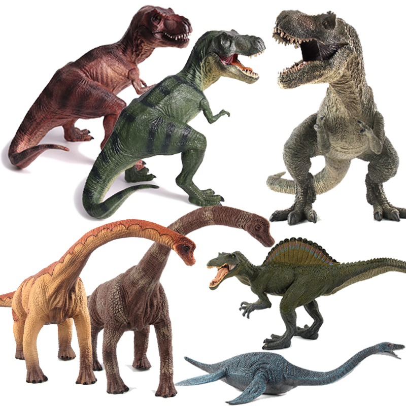 25 Styles Action Figures Jurassic Tyrannosauru Dragon Dinosaur Toys Plastic Doll Animal Collectible Model Furnishing Toy Gift F3 24pcs lot 4 7cm plastic dinosaur model toy set dinosaur animal model action figures kids collectible gift party bag loot fillers