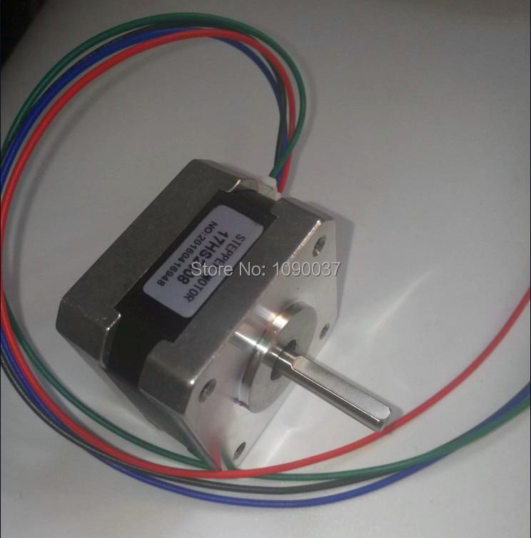 50 pcs  lots 17HS2408 4-lead Nema 17 Stepper Motor 42 motor 42BYGH 0.6A CE ROSH ISO CNC Laser Grind Foam Plasma Cut
