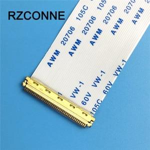 Image 4 - 2 pièces I PEX 20454 030 FFC FPC câble plat Flexible 30 broches 0.5mm pas pour 10 14.1 15.6 17 panneau EDP même Direction