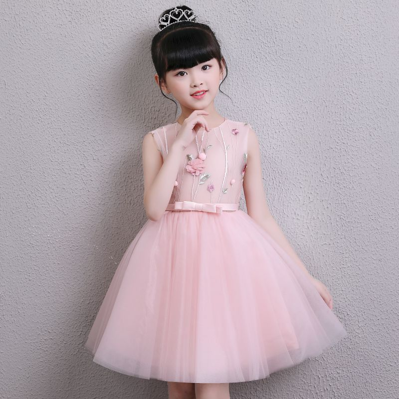 Aliexpress.com : Buy 2018 New Pink Tulle Girl Summer Dress