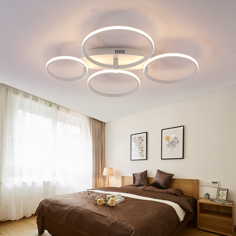 Moderne Aluminium, Led Wohnzimmer, Lampe Beleuchtung, Atmosphäre Kunst  Kreis, Schlafzimmer, Arbeitszimmer