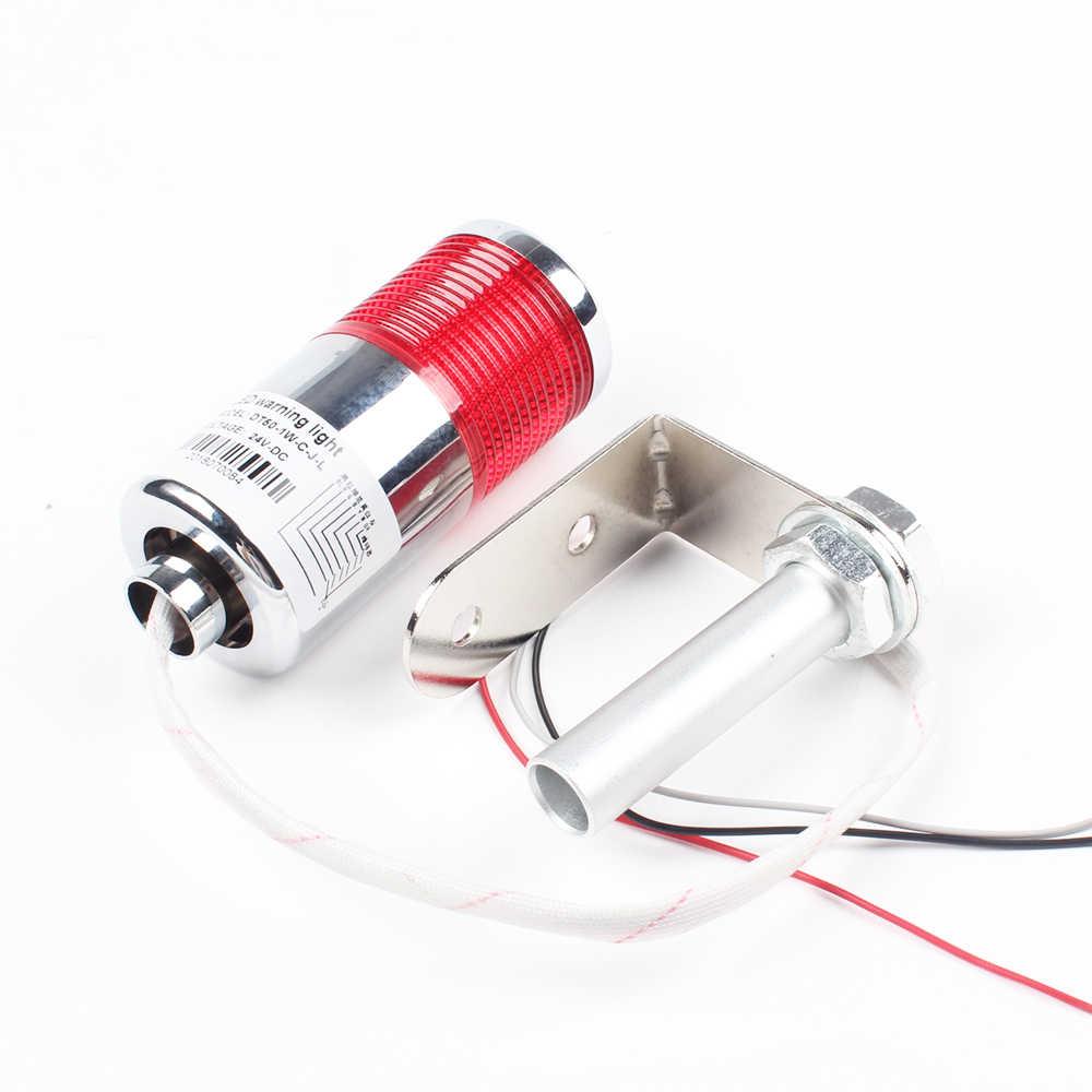Красный LTA вертикальный промышленный многослойный светильник со стеком сигнальная башня сигнальный светильник вспышка промышленный башня светодиодный серебристый