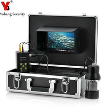 YobangSecurity 1/3 CCD 700TVL Underwater Fishing Camera video Fish Finder 7″ LCD Monitor 20M-100m Cable LED Rotate 360 Degree