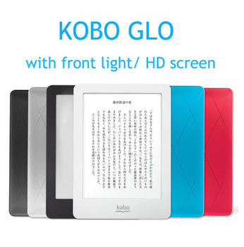 eBook eReader Kobo Glo N613 Front-light e-Book Touch screen e-ink 6 inch 1024x768 2GB WIFI book Reader