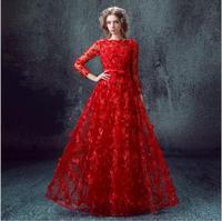 Hi Q Dashiki Red Dresses Plus Size Women Clothing Maxi Dress 2016 Ukraine Womens Sexy Dresses Party Night Club Dress 4XL