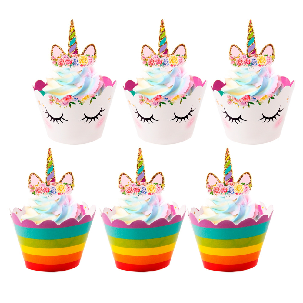 Купить с кэшбэком QIFU Unicorn Birthday Unicorn Party Decoration Unicorn Party Supplies Kids Deco Birthday Girl Set Unicornio Anniversary Balloons