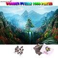 MOMEMO Wonderland для взрослых 1000 штук Пазл деревянный красивый пейзаж пазл для взрослых 1000 штук Пазлы игрушка сюрприз подарки