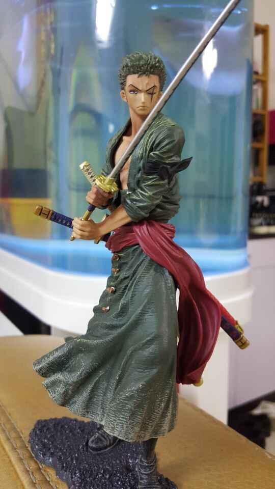 20 cm ONE PIECE Roronoa Zoro ONEPIECE modelo figura de ação Dos Desenhos Animados Anime toy xmas gift collection livre animais de Estimação Eletrônicos