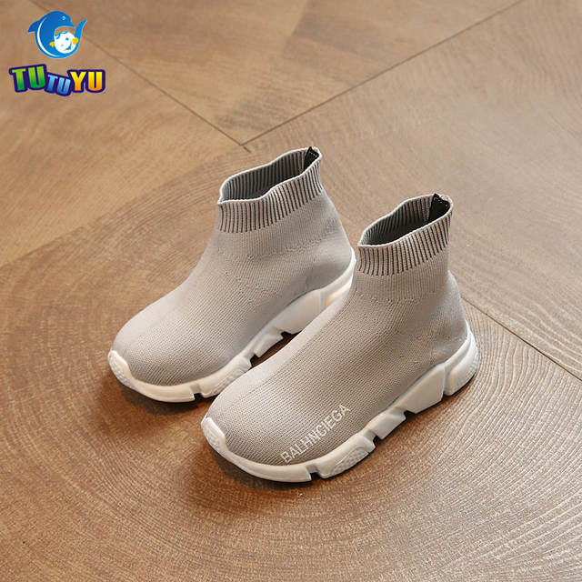 b6b5473d06c49 Online Shop TUTUYU Kids Fashion Shoes Boys Girls Flying Sneakers Children  High Hell Speed Trainer for Kids Tennis Infantile Shoes