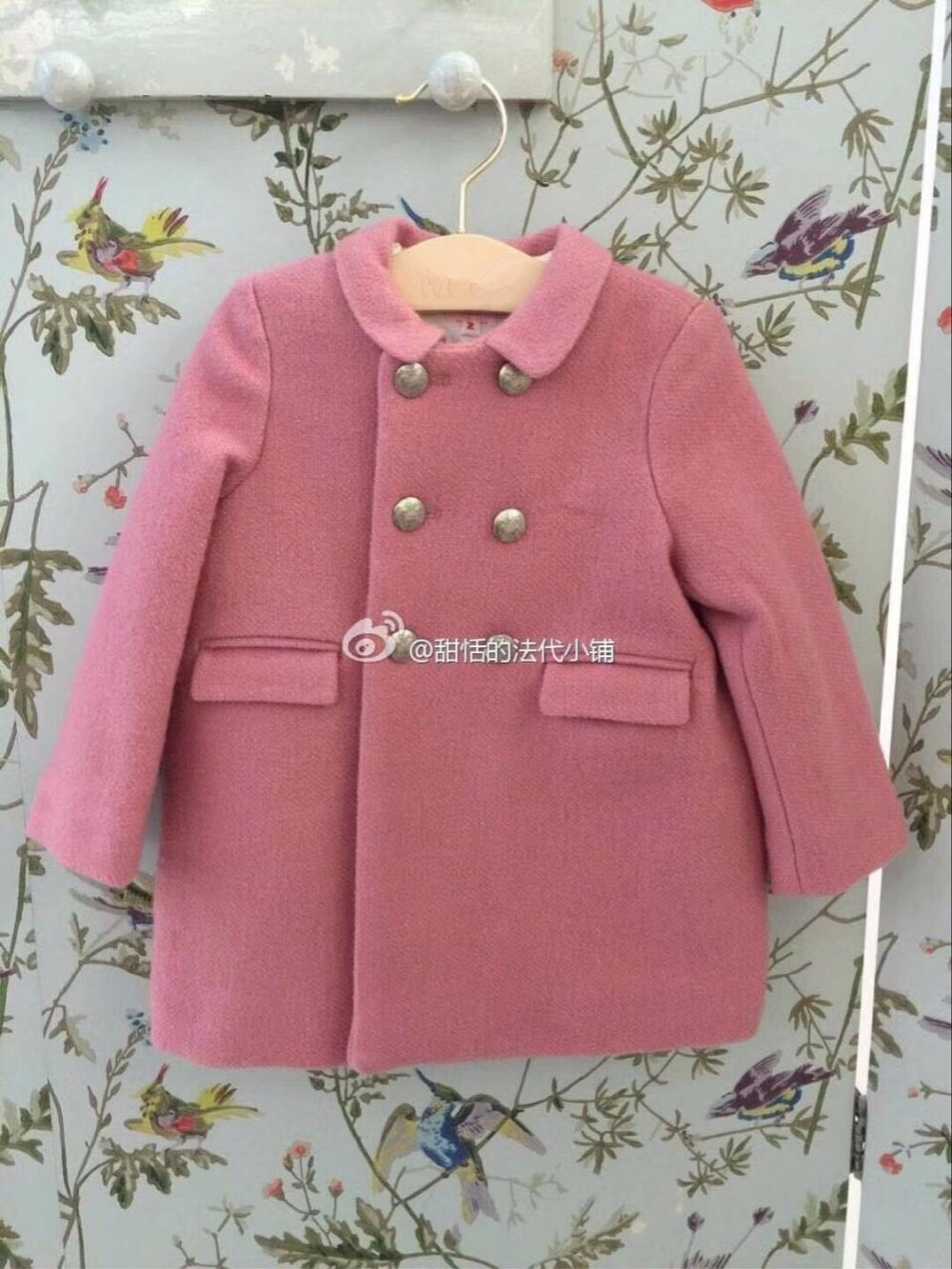 Kids coat wool coat cotton padded thick warm coat solid pink color sweet baby girls outwear winter baby girls clothes children winter coats jacket baby boys warm outerwear thickening outdoors kids snow proof coat parkas cotton padded clothes