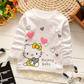 baby boys girls clothes new 2017 spring fashion cartoon kitty cat newborn baby clothes toddler infant clothing 0-4 year