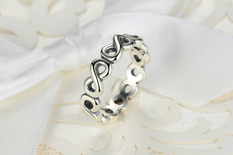 Classic Bow-knot Infinity Ring