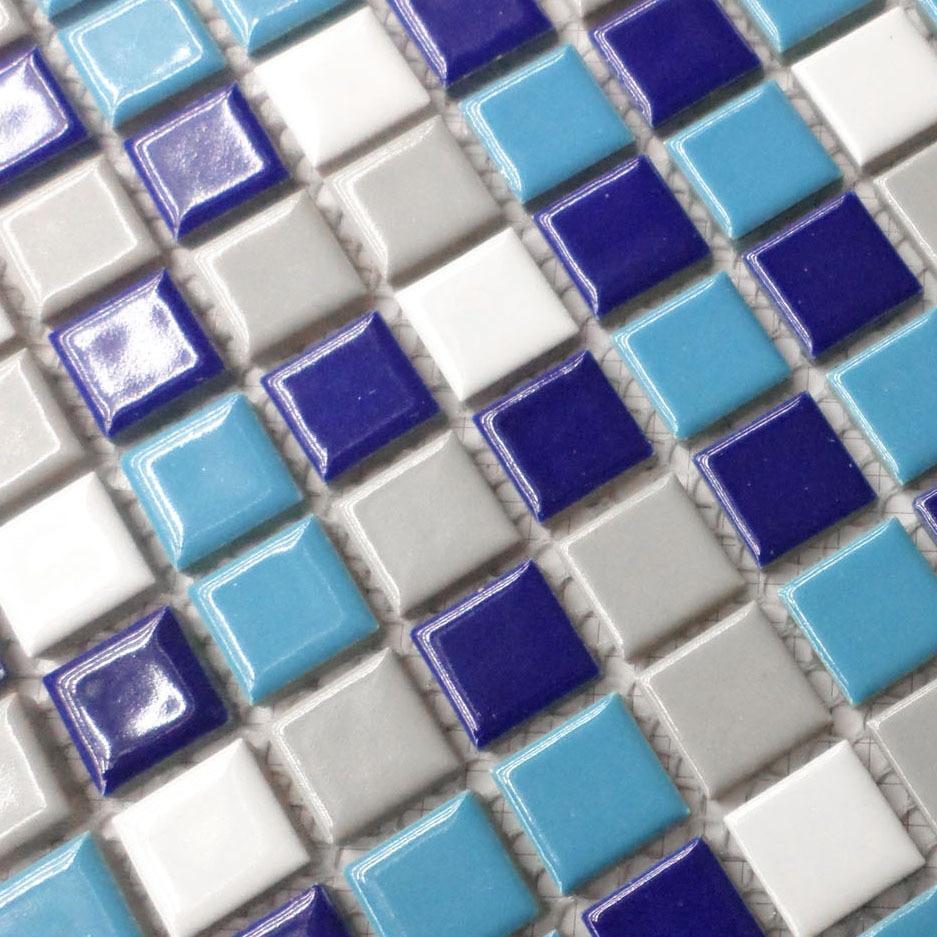 white blue and gray color porcelain tiles hmcm1026 for bathroom shower mosaic kitchen backsplash wall floor tiles