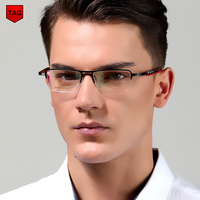 2017 retro metal eyeglasses frame TAG Hezekiah Brands myopia computer optical frame vintage spectacle frames oculos de grau nerd