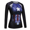 Fitness Compression Shirt Superman VS Batman 3D Printed T-shirts women Long Sleeve Cosplay Costume Clothes girl's Tops Shirts