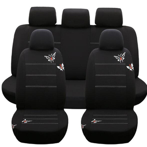 Butterfly Seat Cover Embroider