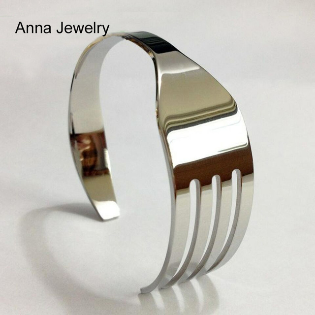 Fork Shape Cuff Bracelet  1