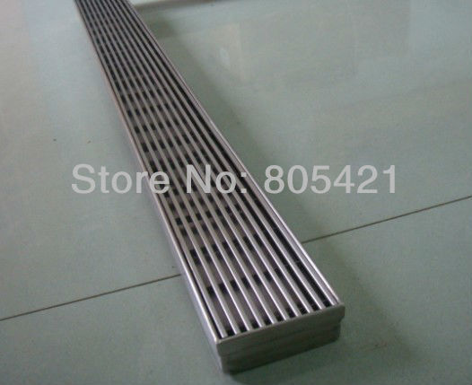 linear tile insert grate Long shower drains CLO1000