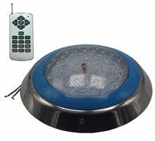 الأضواء LED حمام سباحة RGB مصباح تحت الماء 12 فولت التيار المتناوب سطح بلات أضواء نافورة IP68 مقاوم للماء 18 واط 36 واط 45 واط 54 واط