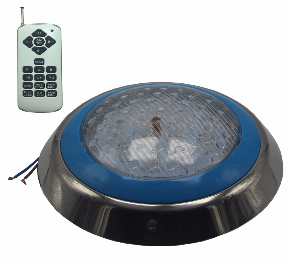 Spotlight LED Swimming Pool RGB Underwater Light 12V AC Surface Plat Fountain Lights IP68 Waterproof 18W 36W 45W 54W-in LED Underwater Lights from Lights & Lighting