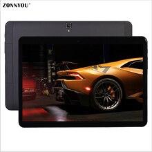 10.1 Дюймов Tablet PC Android 6.0 Tab Pad 4 ГБ RAM 32 ГБ ROM Octa Core Магазине Play Bluetooth 4 Г Lte Телефон Dual SIM Карты 10.1 «Phabet