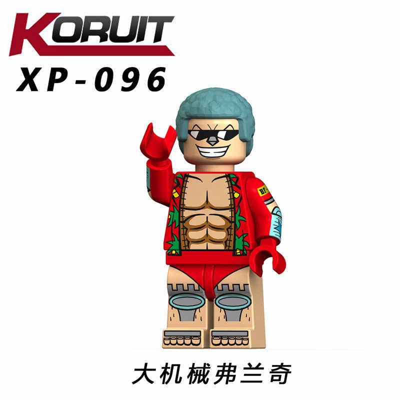 Tonytony Чоппер фигурки японский мультфильм ОДИН КУСОК луффи Нико франки Law Sabo Nami Ace строительные блоки игрушки поп XP119