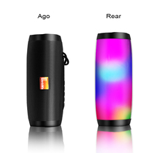 Bluetooth Wireless Speaker Waterproof color Light sport loudspeaker music column With TF mp3 player for phone samsung lordzmix rock zone ultra