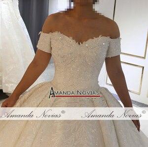 Image 2 - Vestido de novia brillante, de diseñador, 2019