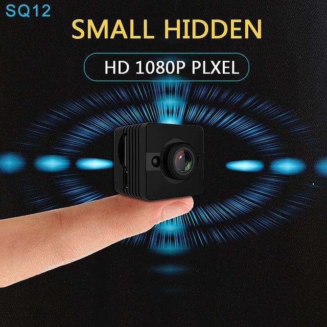 Original Mini Cam WIFI Camera SQ13 SQ23 SQ11 SQ12 FULL HD 1080P Night Vision Waterproof Shell CMOS Sensor Recorder Camcorder 2
