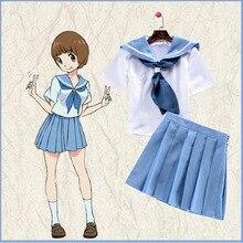 СТАТИСТИКА ла УБИЙСТВО Мако Mankanshoku Летние Sailor Dress Набор Косплей Костюм X001