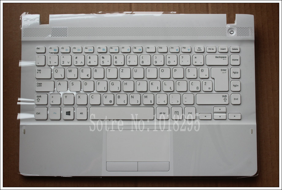 NEW For Samsung NP270E4E NP300E4E NP270E4V NP275E4V Slovenian SV/SL Laptop Keyboard With  Case Touchpad BA75-04583P