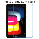 Premium Tempered Glass For LG G Pad IV 8.0 FHD V553 / V533 / P530 GPad Tablet Screen Protector 9H Protective Film Guard