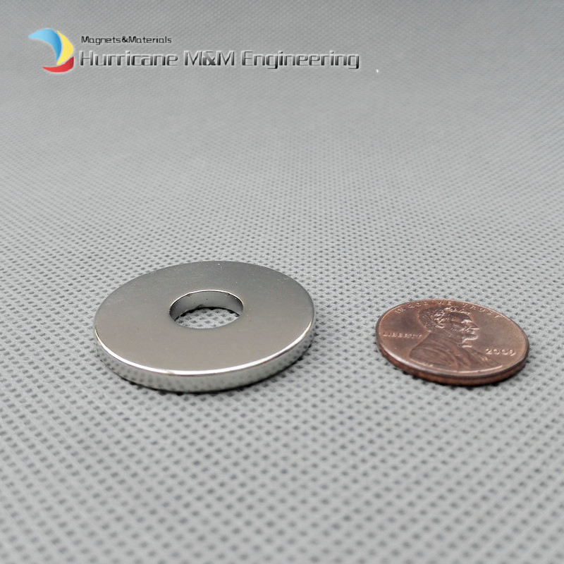 1 Pack NdFeB Magnet Ring OD 30x10x3 (+/-0.1)mm Dia. 1.18 Strong Neodymium Permanent Magnets Rare Earth Magnets Grade N42 ndfeb n42 magnet large disc od 100x10 mm with m10 countersunk hole 4 round strong neodymium permanent rare earth magnets