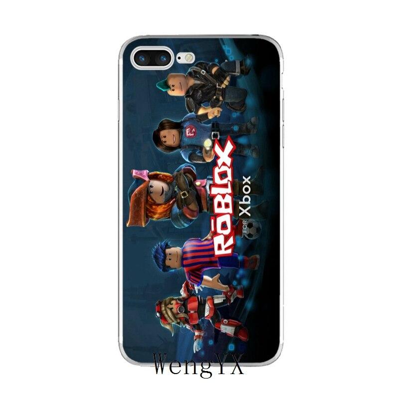popular Game ROBLOX logo Slim silicone TPU Soft phone case For Sony xperia  XA Z Z1 Z2 Z3 Z4 Z5 Premium Compact M2 M4 M5 E3 T3
