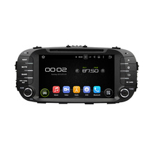 otojeta car dvd player gps navigation for Kia Soul 2014 octa core android 6.0 2GB RAM 32GB ROM stereo BT/radio/obd2/tpms/camera