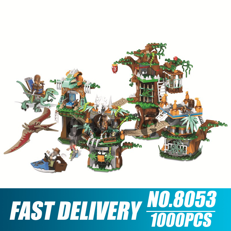 Building Blocks 8053 Compatible With Legoingly Jurassic