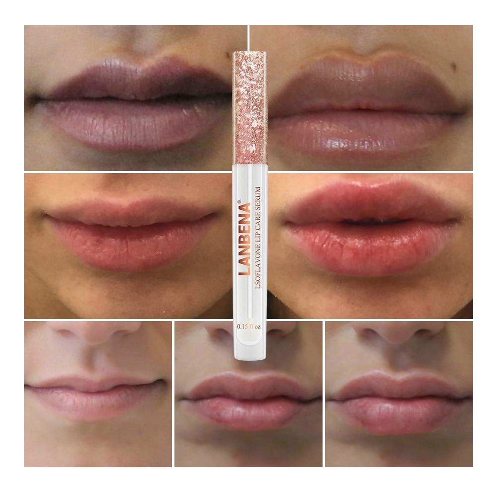 Lip Plumper Collagen Lip Care Serum Lipgloss Isoflavone Gloss Reduce Fine Lines Lips Moisturizing And Plumping Lipstick Enhancer 5