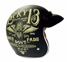 Hot sale lucky 13 JET helmet font b TORC b font motorcycle helmets font b retro
