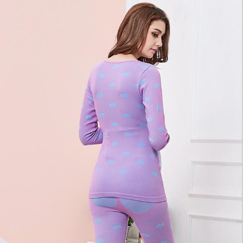 2pcs Maternity Clothes Suit Pregnancy Sleepwear Breastfeeding Thermal Underwear Nursing Pajamas for Pregnant Women D0042 in Sleep Lounge from Mother Kids