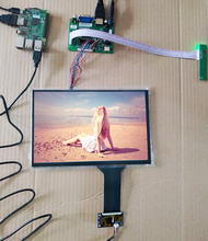 10.1 אינץ 1280*800 IPS מגע LCD ערכת USB 5V תמיכה Win7 8 10 פטל Pi אנדרואיד לינוקס ציוד תעשייתי 10 אצבעות