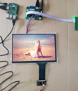 10.1 Inch 1280*800 IPS Touch LCD Kit USB 5V Support Win7 8 10 Raspberry Pi Android Linux Industrial equipment 10fingers Touch(China)