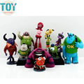 New 10pcs Monsters Inc. Monsters University Mike Sully Randall Mini Action Figures Toys Anime Cake Toppers Kids Gift