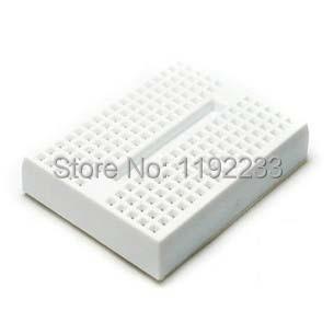 5pcs/lot Mini Solderless White Prototype Breadboard 170 Tie-points For ATMEGA PIC Arduino UNO