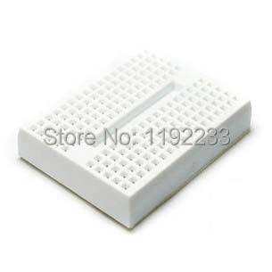 5pcs/lot Mini Solderless White Prototype Breadboard 170 Tie-points For ATMEGA PIC Arduino UNO